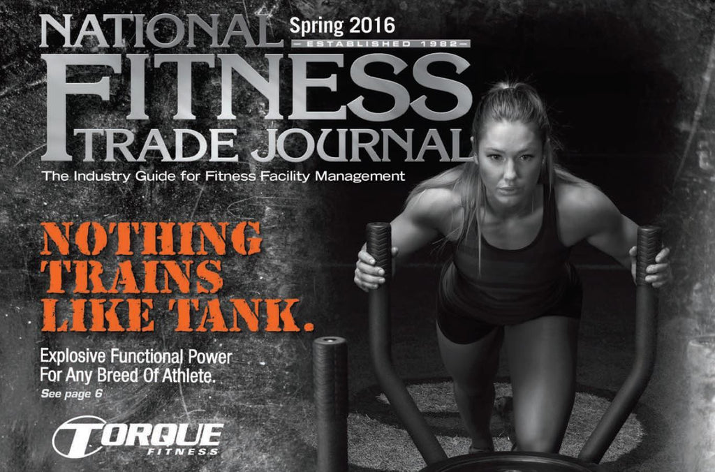 The all new TANK featured in The National Fitness Trade Journal