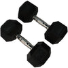 Rubber Hexagon Dumbbell