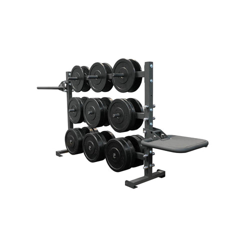 6 Foot Horizontal Weight Storage/Dip/Plyo Rack