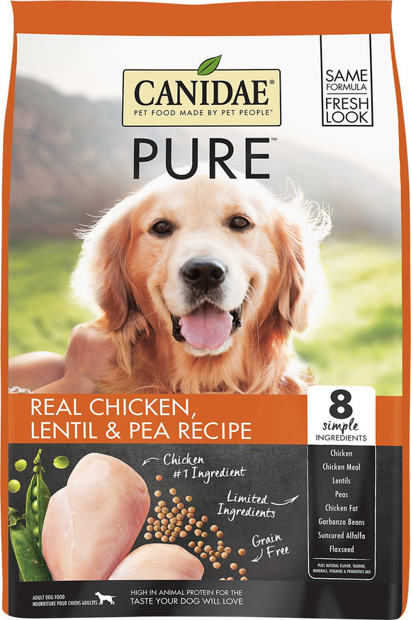 Canidae Pure Real Chicken Lentil & Pea Recipe Grain Free Dry Dog Food