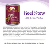 Wellness Beef Stew With Carrots & Potatoes Grain Free Wet Dog Food