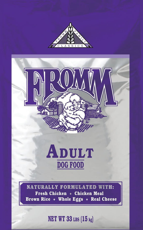Fromm Adult Chicken Brown Rice & Eggs Grain Inclusive Dry Dog Food