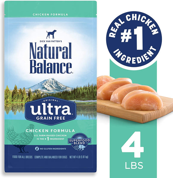 Natural Balance Original Ultra Chicken Formula Grain Free Dry Dog Food