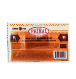 Primal Beef Marrow  Grain Free Frozen Raw Bone Treat