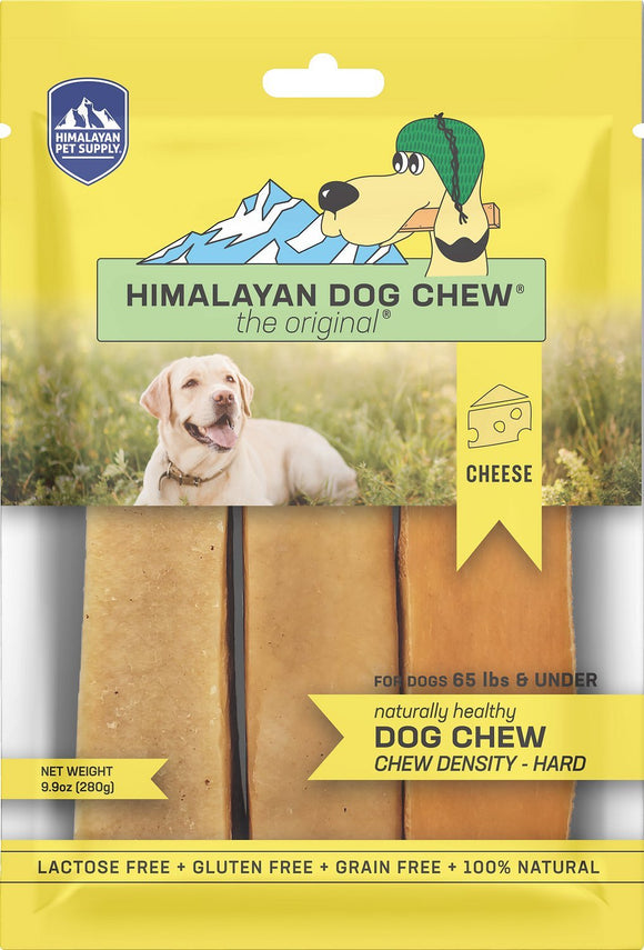 Himalayan Pet Supply Natural Cheese Grain Free Dog Chew Treat