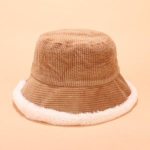Corduroy Panama Thick Warm Bucket