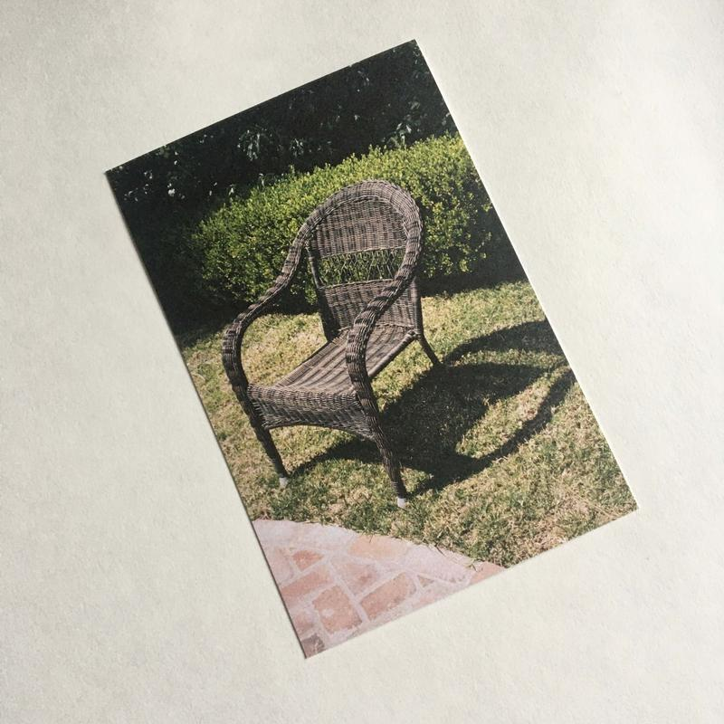 Chair — Collectible Print