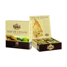 Load image into Gallery viewer, Leaf of Ceylon collection assorted gift pack- Basilur - 40 Tea Bags x 04 packs bundle