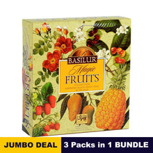 Load image into Gallery viewer, Magic fruits assorted gift pack - Basilur - 40 tea bags x 03 packs in bundle