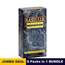 Load image into Gallery viewer, Oriental collection, Magic night - Basilur - 25 tea bags x 06 packs bundle