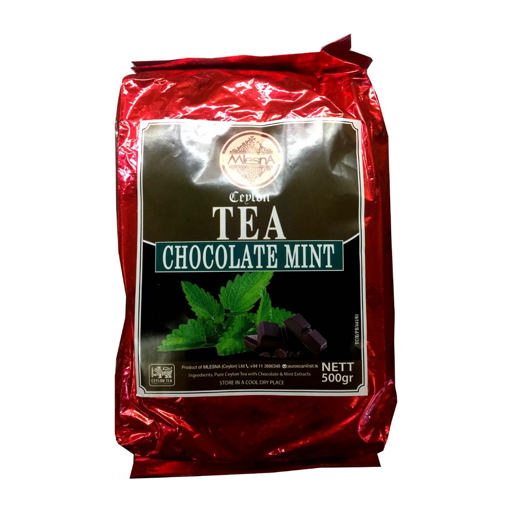 Chocolate Mint Tea - Mlesna - 500g (17.63oz)