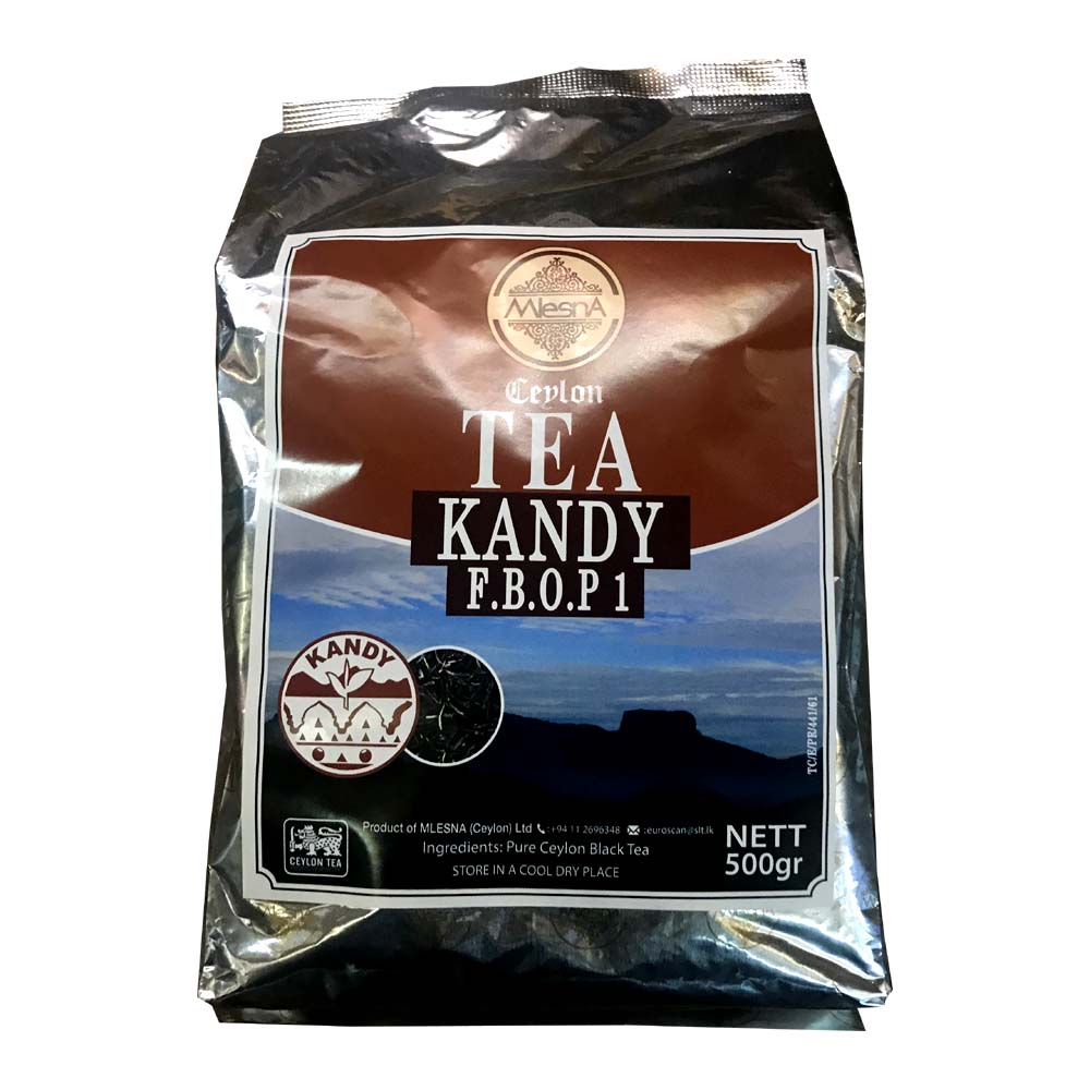 Kandy FBOP 01 Black Tea - Mlesna - 500g (17.63oz)