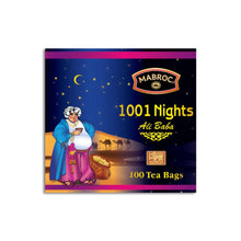 Load image into Gallery viewer, 1001 nights tea bags - Mabroc - 100 Tea bags 200g (7.05oz) x 03 Packs bundle