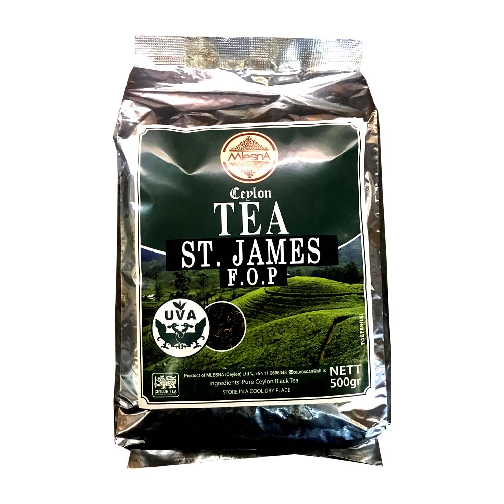 ST. James FOP black tea - Mlesna - 500g (17.63oz)