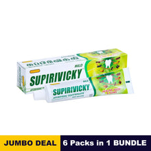 Load image into Gallery viewer, Siddhalepa Supirivicky Toothpaste - 110g  x 06 packs bundle