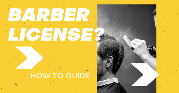 How to become a barber in Ontario, Barber License