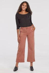 Audrey Wide Leg crop pant