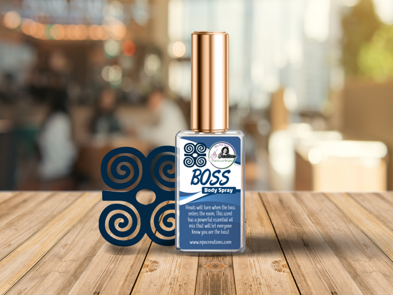 BOSS- BODY SPRAY