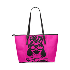 """VALDEA"" MULTI COLOR VEGAN TOTE BAGS"