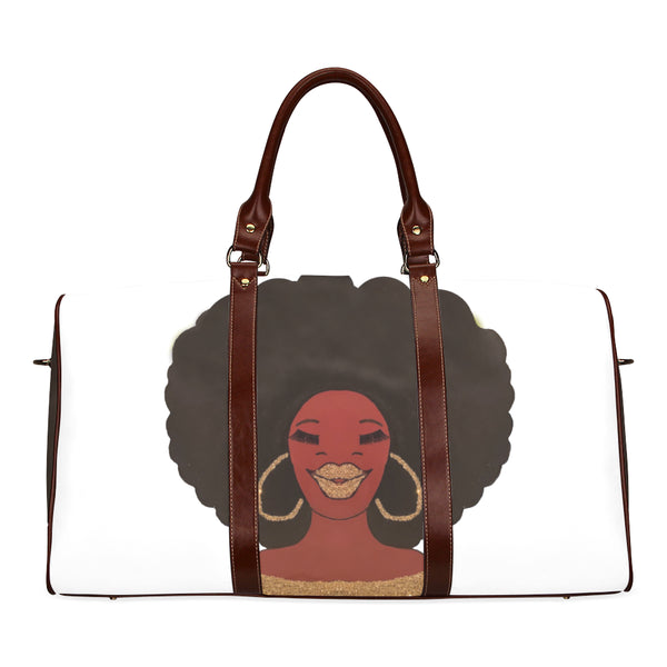 """ZORA"" MULTI COLOR SMALL TRAVEL TOTE BAG"