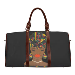 """MECCA"" MULTI COLOR SMALL TRAVEL TOTE"