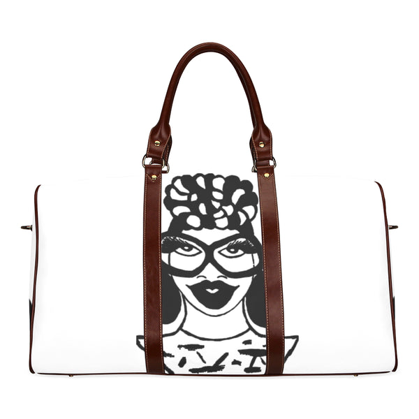 """VALDEA"" MULTI COLOR SMALL TRAVEL TOTE BAGS"