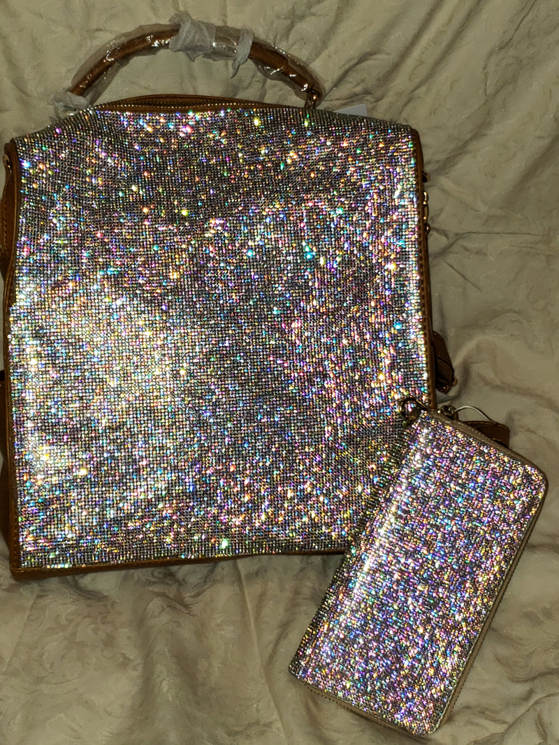 CARAMEL BLING BACKPACK