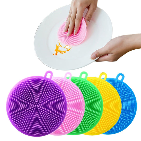 Silicone Cleaning Brush