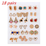 18pairs mixed earrings
