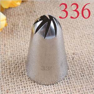 304 Stainless Steel Cake Cream Decoration Head