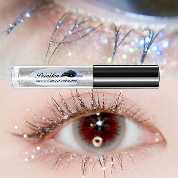Diamond glitter mascara