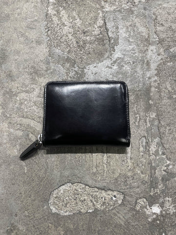 Small zip wallet - Black