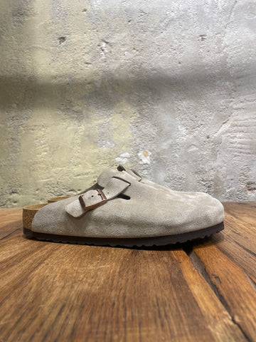 BOSTON Cuir Suede - Taupe