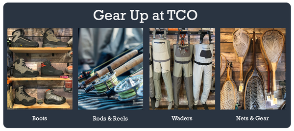 Gear up at Trout Creek Outfitters