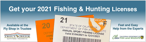 Trout Creek Fishing Licenses