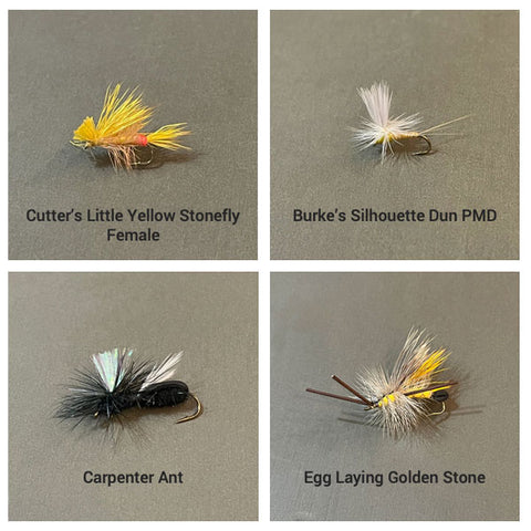 June dry fly selections
