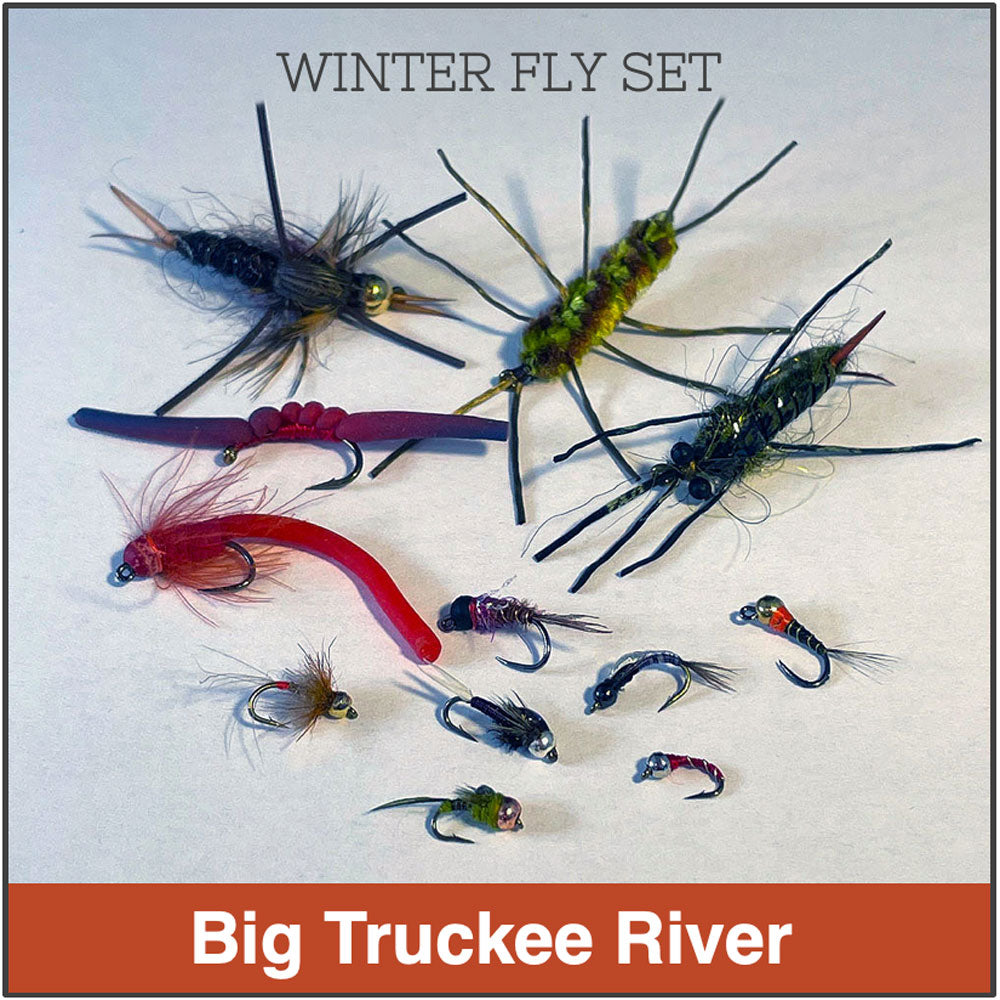 Big Truckee River Winter Fly Set (12)