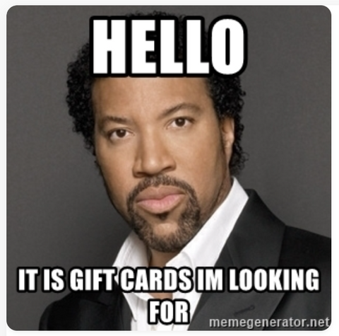 TCO Gift Cards