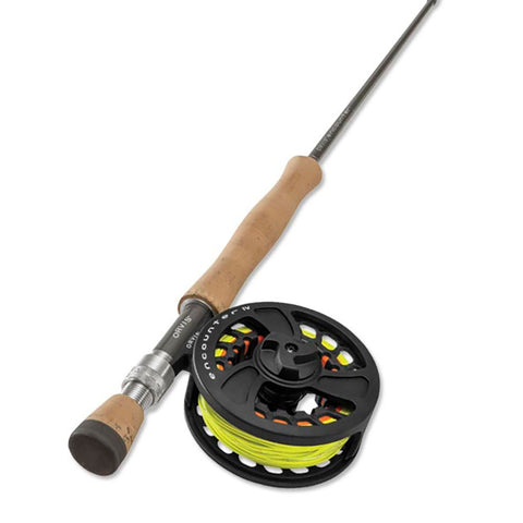 Rod, Reel, and Line Package