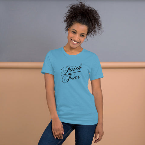Faith Over Fear (Light) Unisex T-Shirt