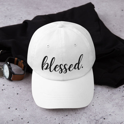 Blessed Embroidered Classic Hat (Light)
