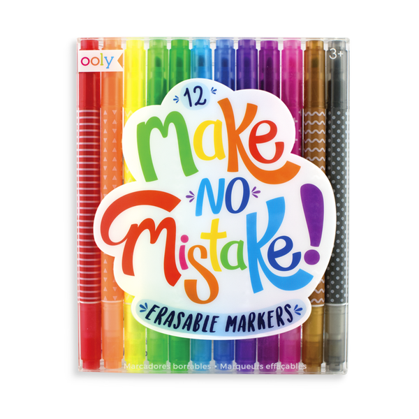 OOLY Make No Mistake Erasable 12 Marker Set