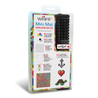 Waff World Black Mini Waff Playmat