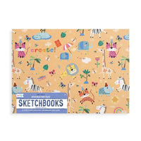 OOLY Safari Party Doodle Pad Duo Sketchbooks