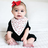 Copper Pearl Dot Bandana Bib Set (4 pack)