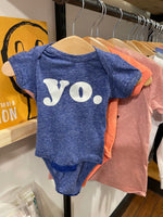 Yo. Royal Blue Melange Bodysuit