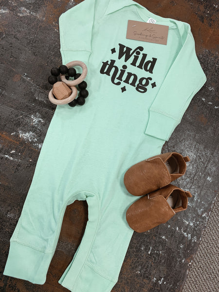 Peace Alley Wild Thing Mint Jumper