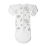 Goumi Abstract Floral Baby Gown