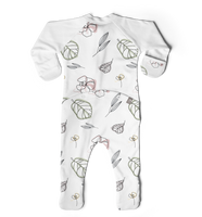 Goumi Abstract Floral Footies