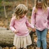 Here Comes The Sun Mauve Toddler Long Sleeve